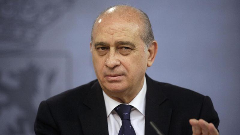 El esc ndalo del ministro del interior y el jefe de la for El ministro de interior