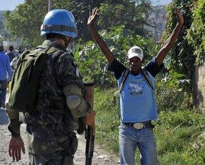 13 años de los cascos azules en Haití: ¿misión de paz o colonización?