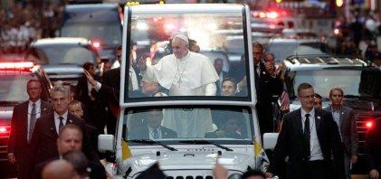 Armado hasta los dientes: el poderoso dispositivo de seguridad del Papa