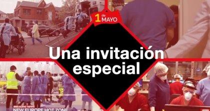 1 de Mayo | Acto Internacionalista: conexión simultánea desde 14 países