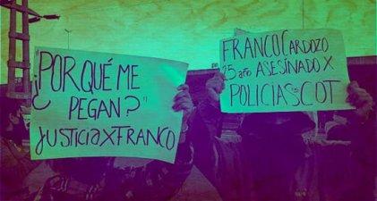 Tigre: Policía hostiga a amigos de Franco Cardozo por difundir su caso
