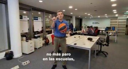 """Randazzo contra el derecho de las y los docentes: """"No más paro en las escuelas"""""""
