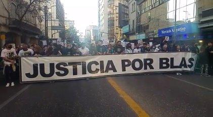 [Video] Movilización a un año del asesinato de Blas Correa en Córdoba