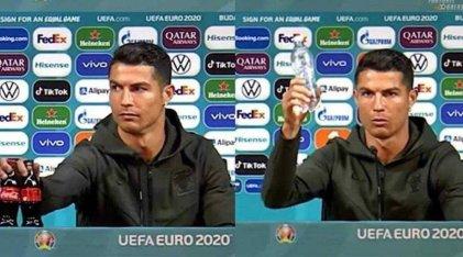 Cristiano Ronaldo dio un consejo y Coca-Cola perdió USD 4.000 millones en media hora