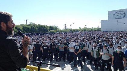 """Acuerdo Toyota-SMATA: un """"contracordobazo"""" para liquidar el descanso obrero"""