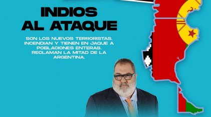 """¿""""Indios al ataque""""? El bluf de Lanata sobre un """"terrorismo"""" imaginario"""