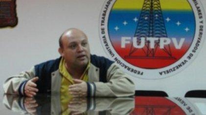 Venezuela: solidaridad con José Bodas, secretario general de la FUTPV, contra las amenazas de despido