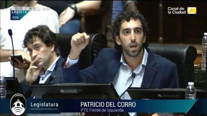 [Videos] Patricio del Corro contra la ley de responsabilidad fiscal y el cierre de los terciarios
