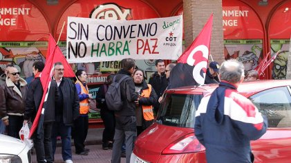 Trabajadores de Amazon denuncian represalias de Adecco y Manpower contra los huelguistas