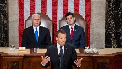 Macron ante el Congreso de EE.UU.: un discurso encendido, pero sin acuerdos a la vista