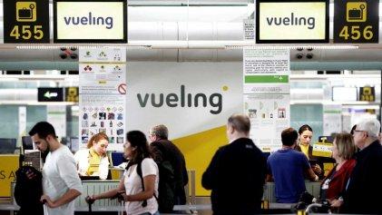 Se cancelan más de 400 vuelos en los 4 días de huelga en Vueling