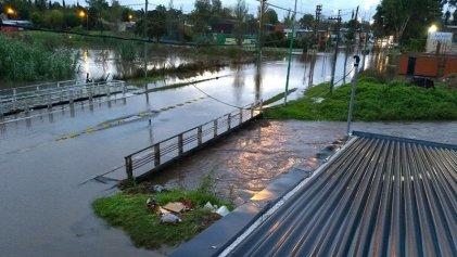 El temporal dejó evacuados, zonas anegadas y dos víctimas fatales