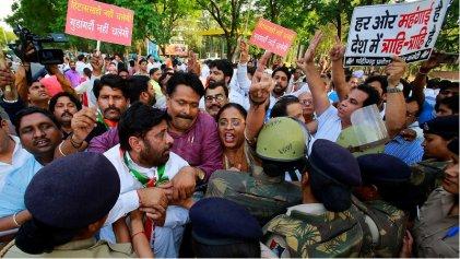 India: al menos once muertos por represión a una manifestación de ambientalistas