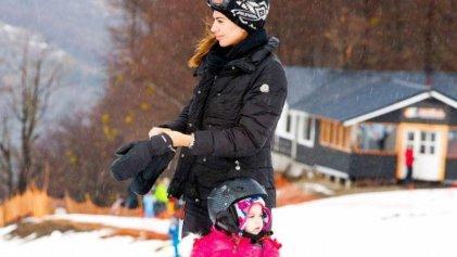 Ni botas para nieve: cómo trabaja el personal donde esquían Macri y Awada en vacaciones