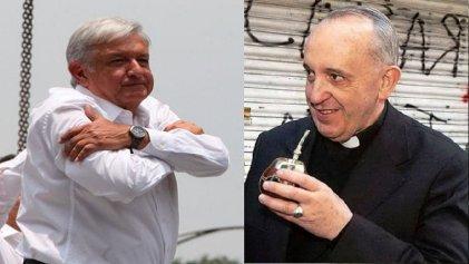 """Las razones de López Obrador para invitar al Papa al """"proceso de pacificación"""""""