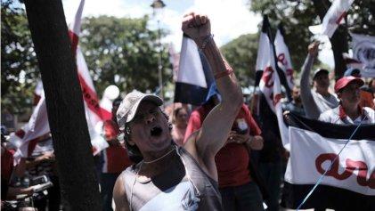 Costa Rica: Jornada de movilización en la segunda semana de huelga contra la reforma fiscal