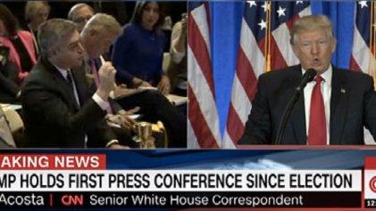 Prensa de EE.UU. se unifica contra veto de Trump a periodista de CNN