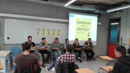 """Referendos en universidades de Cataluña: """"No queremos a la monarquía, como se demostró el 1-O"""""""