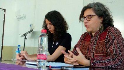 """Andrea D'Atri en Madrid: """"¿vamos a pelear por que haya más mujeres empresarias o por terminar con la explotación capitalista?"""""""