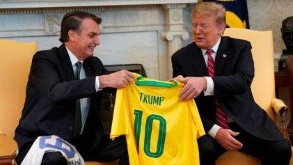 Trump y Bolsonaro unidos por su discurso reaccionario y el golpismo contra Venezuela