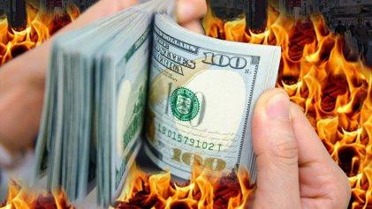 Al rojo vivo: el dólar superó los $ 43 y la tasa de Leliq llegó al 66 %