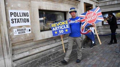 El Reino Unido votó en las elecciones europeas con la crisis del Brexit de fondo