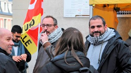 Francia: detenido el sindicalista de correos Gaël Quirante, líder de una huelga que ya lleva 15 meses