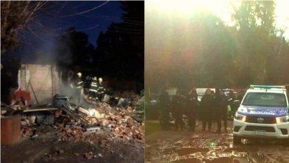 Pilar: cinco hermanitos mueren al incendiarse una casa