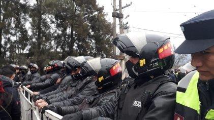 El Sindicato docente de Mendoza repudia la represión de Urtubey contra docentes salteños