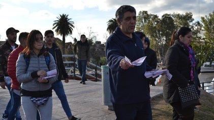 """Camilo Mones: """"En el Conurbano, 600.000 personas sin empleo y 7 de cada 10 jubilados en la pobreza"""""""