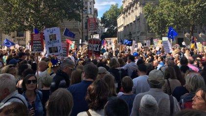 """Reino Unido: miles salen a las calles bajo el grito """"¡Paremos el golpe!"""""""