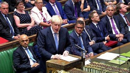 El Parlamento británico se rebela contra Boris Johnson