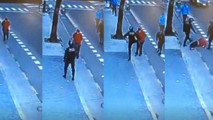 ¿Qué hace libre?: el policía que mató de una patada quiso fraguar las pruebas