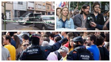Diputados del Frente de Izquierda de Argentina reclaman liberación de independentistas catalanes