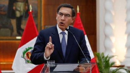 Perú se debate entre el cierre del Parlamento y la destitución del presidente Vizcarra