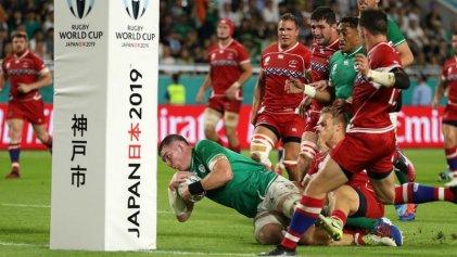 Irlanda recuperó el paso tras la caída ante Japón