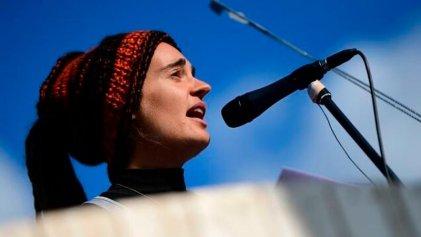 """La acampada climática inicia una """"rebelión"""" en Berlín liderada por la capitana Rackete"""