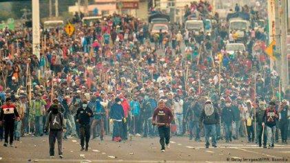 La lucha del pueblo ecuatoriano mostró el cinismo sin par de Maduro y la hipocresía de la oposición
