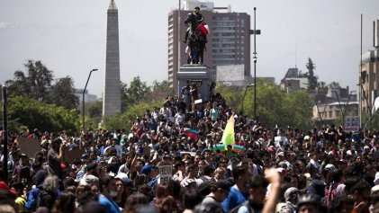 """Chile: """"Por una huelga general con movilización y continuidad hasta acabar con el estado de emergencia y echar a Piñera"""""""