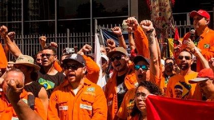 Brasil sin derechos: juez decreta ilegal la huelga de los petroleros