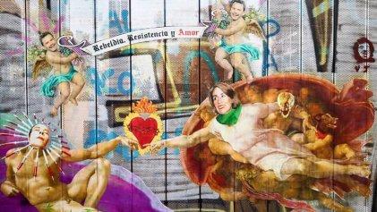 La creación de un nuevo Chile según el arte de Chicle de Clorofila