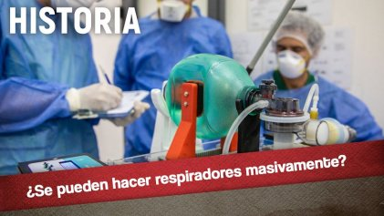 ¿Se pueden fabricar respiradores masivamente? La historia demuestra que sí