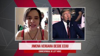 """[Video] Jimena Vergara: """"En Estados Unidos hay una oleada de lucha de clases"""""""