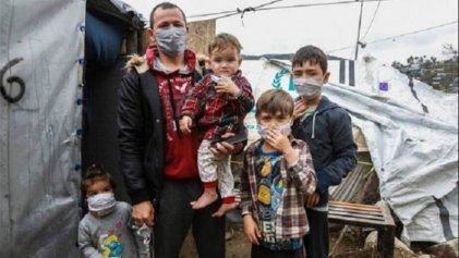 Grecia: dos migrantes heridos de bala en el campo de refugiados de Moria
