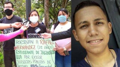 Joven de 21 años asesinado mientras protestaba por falta de luz en Venezuela
