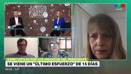 """La diputada Barry cruzó a Lopérfido en vivo: """"Es un negacionista total, incluso sobre la pandemia"""""""