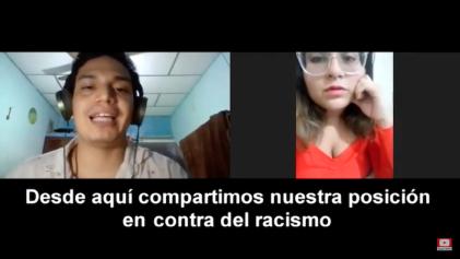 [Video] Jóvenes de Ecuador se unen a la invitación del acto internacional contra el racismo