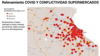 Primer informe: covid-19 y conflictividad laboral en supermercados del AMBA