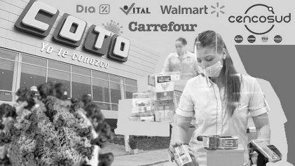 Reclaman en el Congreso por los 900 trabajadores contagiados en supermercados del AMBA