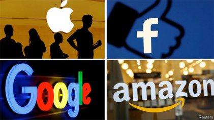 Facebook, Google, Amazon y Apple niegan acusaciones de monopolio ante el Congreso de EE. UU.